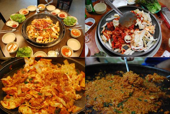 韩国美食小吃介绍大全图片