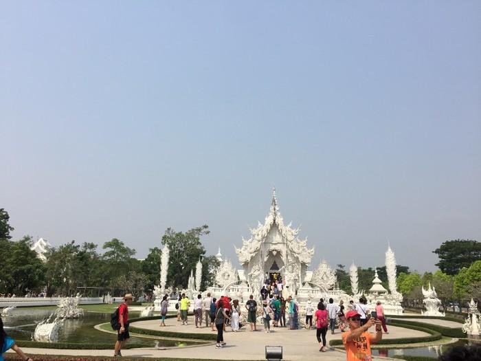 白庙风景名胜区如画般美丽,全世界只有一个泰国,泰国只有一个白庙
